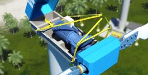 WES in board hoisting crane