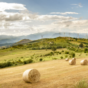 Wind farm in Basilicata – Italy