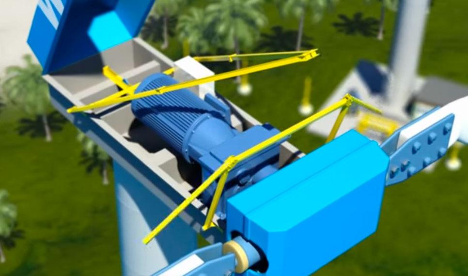 Hurrican-hoisting-Crane-WES
