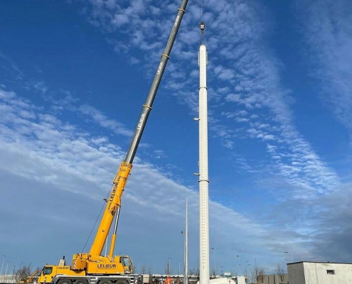 Tower erection WES80