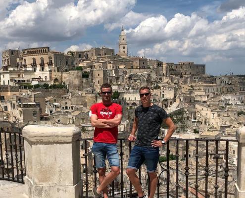 Sjoerd en Maarten WES Italia